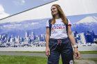 Ambasadorka akce střelkyně Kateřina Emmons na Olympijském festivalu v Praze