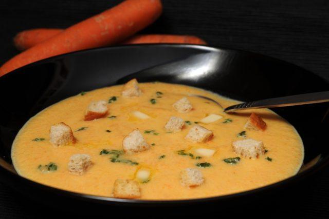 Mrkvová polévka | foto: Hana Major Sládková