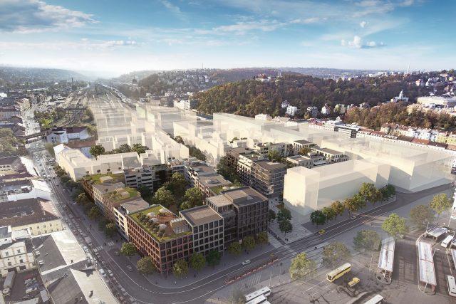 Smíchov City celkový pohled | foto:  IPR Praha
