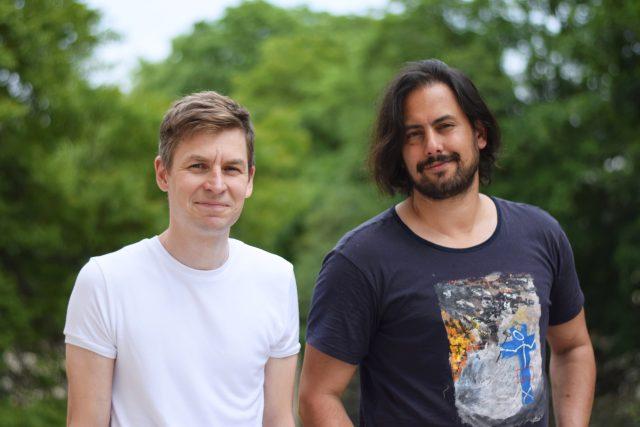 Režisérské duo SKUTR: Lukáš Trpišovský a Martin Kukučka | foto: Eliška Chocholová,  Český rozhlas