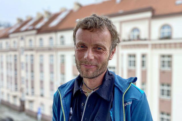 Horolezec Jan Trávníček | foto: Tereza Čistotová,  Český rozhlas