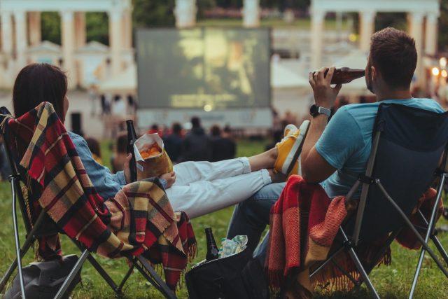 Letní kino (ilustrační foto)